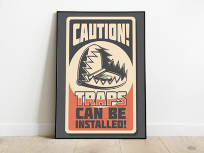 Hipster poster